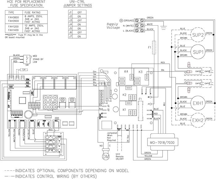 Fantech Shr 6905r 687 Cfm Heat Recovery Ventilator Hrv