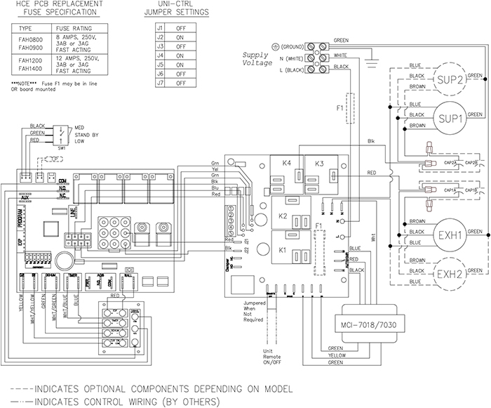 Fantech SHR 8004 Wiring Diagram fantech shr 8004 resources 788 cfm heat recovery ventilator lennox hrv wiring diagram at edmiracle.co